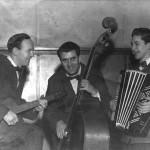 Odd Lore's trio: fv. Odd Lore Hansen, Terje Bredesen og Einar Barhaughøgda
